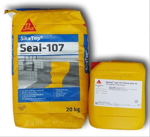 Phương pháp chống thấm dột nhà vệ sinh - sika top seal 107