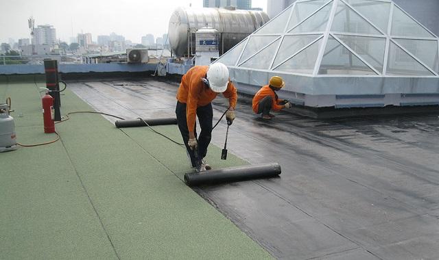 Kỹ thuật chống thấm sân thượng