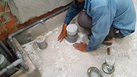 Kỹ thuật chống thấm nhà vệ sinh