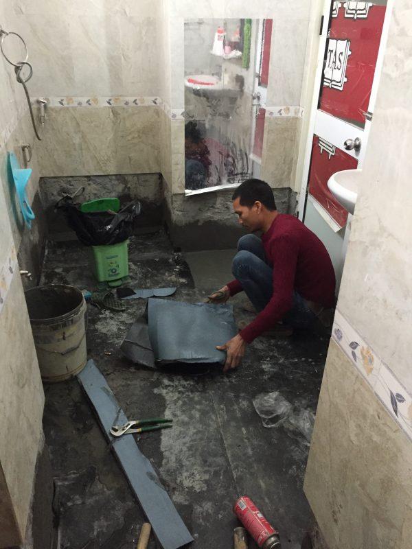 Biện pháp thi công chống thấm nhà vệ sinh