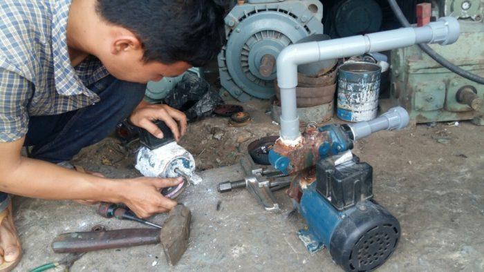 Sửa chữa máy bơm tại Hà Nội