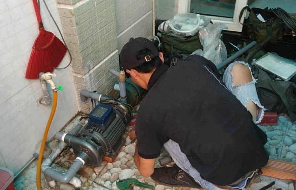 Sửa chữa điện nước tại Tây Mỗ Đại Mỗ - Sửa máy bơm