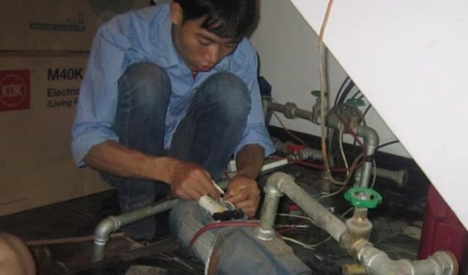 Sửa điện nước tại Thanh Xuân Bắc
